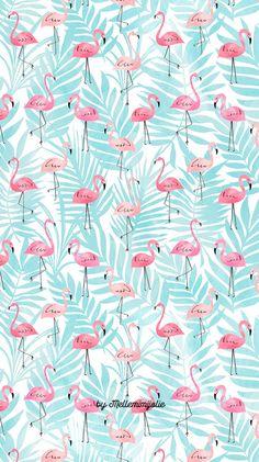 E ai? Que esta tbm nessa vaibe flamingo? Flamingo Wallpaper, Summer Wallpaper, Trendy Wallpaper, Pretty Wallpapers, Screen Wallpaper, Cool Wallpaper, Pattern Wallpaper, Iphone Wallpapers, Bedroom Wallpaper