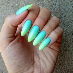 Perfect Nails, Gorgeous Nails, Nail Mania, Different Types Of Nails, Bit Set, Almond Acrylic Nails, Sparkly Nails, How To Grow Nails, Fire Nails