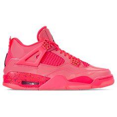 sale retailer 3c127 551a8 NIKE WOMEN S AIR JORDAN RETRO 4 NRG BASKETBALL SHOES, PINK.  nike  shoes