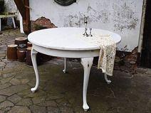 Grosser Runder Esstisch Vintage Tisch Ausziehbar Vintage Tisch