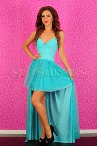 Tinute pentru nunta dama Strapless Dress Formal, Prom Dresses, Formal Dresses, Turquoise, Coral, Shopping, Fashion, Dresses For Formal, Moda