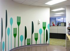 #forks #spoon # #walldecal #decals #viniles #vinil #cocina #kitchen #cubiertos