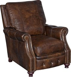 Norton Leather Recliner & Reviews | Joss & Main