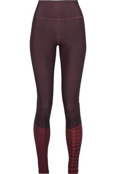 c08fda81522 Adidas by Stella McCartney - Train Miracle Printed Climalite Stretch  Leggings - Dark purple Stella Mccartney