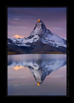 First light, Valais, Switzerland
