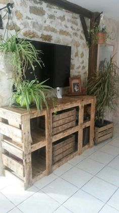 1000 images about meuble palette on pinterest pallets pallet wardrobe and du bois. Black Bedroom Furniture Sets. Home Design Ideas