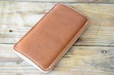Blackberry Classic, Blackberry Passport Leather Sleeve - BOTH SIDES (Organic Leather)