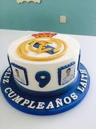 Resultado de imagen de real madrid cake