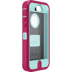 Pink & Teal OtterBox for iPhone 4/4S - any color, I saw some at Sam's Club