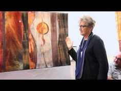 Joanne Alberda's visits to a ghost town led to a series of 5 quilts