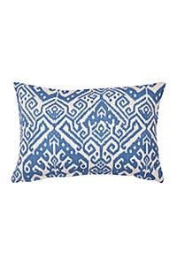 IKAT PRINTED CHUNKY COTTON 40X60CM SCATTER CUSHION