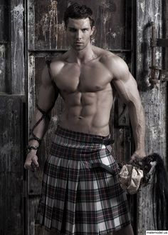and people say that wearing a kilt is girly. yeah okay. they obviously havent seen this guy...