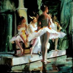 Dancers At Rest by Johanna Harmon