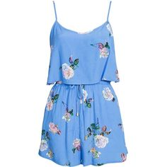 Minkpink Summer Fling Playsuit (€86) ❤ liked on Polyvore featuring jumpsuits, rompers, dresses, playsuits, vestidos, jumpsuit, beach wear, patterned, swimwear and womens-fashion