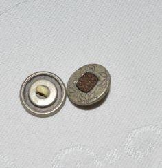 Metallknöpfe++von+KrimskramsVintage+auf+DaWanda.com