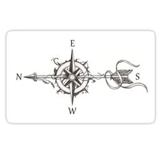Ugh, wish I saw this before  I got my arrow tattoo. I'd have done this compass rose instead!