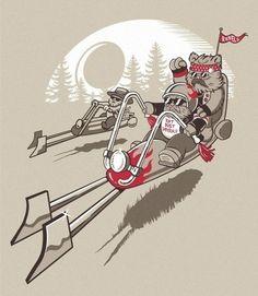 We are rebels #starwars #ewoks