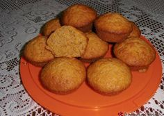 Muffins καρότου Carrot Muffins, Angel Cake, Cake Pops, Carrots, Cake Recipes, Baking, Breakfast, Sweet, Food