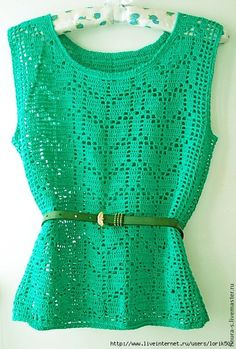Ideas For Crochet Flowers Top Yarns Crochet Tank Tops, Crochet Blouse, Crochet Flowers, Crochet Lace, Diy Crafts Crochet, Mode Crochet, Crochet Woman, Filet Crochet, Crochet Fashion