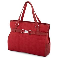 Liz Claiborne Quilted Horizontal Laptop Tote - jcpenney