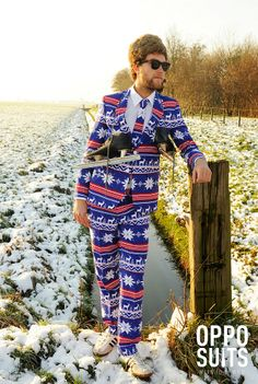 Cause you can't resist a man in a fair isle inspired suit.