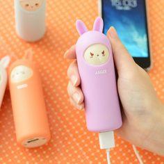 cargador inalambrico de conejo #iphoneaccessories,