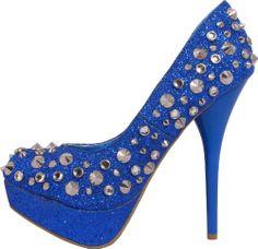 Women's Gold Fish JA-NICOLE Crystal Spiked Sparkle Platform Heels Pumps, 6.5, Blue PacificPlex,http://www.amazon.com/dp/B007UT8M1I/ref=cm_sw_r_pi_dp_FqX3sb0FV306QPRY