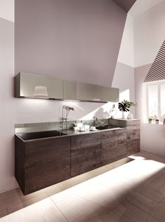 LAGO 36e8 Wildwood Kitchen | Design by Daniele Lago
