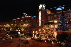 Downtown in December | TravelOK.com - Oklahoma's Official Travel & Tourism Site
