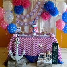 {Nautical Girl Birthday} - Nautical