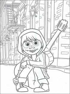FREE Pixar's Coco Printable Coloring Pages, Activity