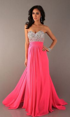 WAIT BUT I WANT THIS DRESS SO BAD. Mac Duggal couture dress neon ...