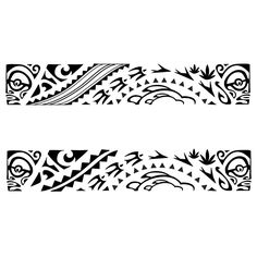 32 Best Maori Armband Tattoo Template Images In 2017 Polynesian