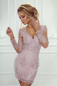 Šaty Elvira růžové