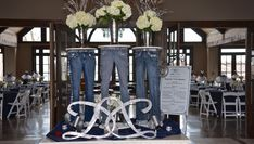 Denim And Diamonds Centerpieces Diamond Theme, Diamond Party, 60th Birthday Party, 50th Party, Diamonds And Denim Party, Diamond Decorations, Disco Party, Sweet 16 Parties, Baby Shower Parties