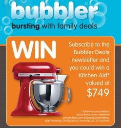 Win a Kitchen Aid from Blubber