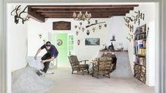 Skating in a house - Schuster Skate Villa, via YouTube.