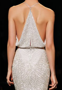 Racer back Balmain dress