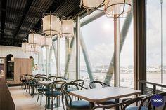 HEKKER  Interieurbouw - Interieurbouw Café Flor op Schiphol Airport - TOOKO – Inspiratie voor een exclusieve werkomgeving Curtains, Home Decor, Insulated Curtains, Homemade Home Decor, Blinds, Draping, Decoration Home, Drapes Curtains, Sheet Curtains