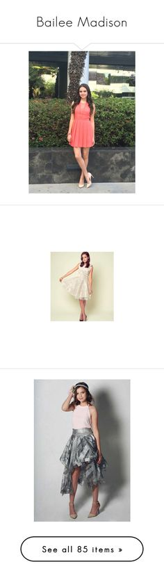"""""""Bailee Madison"""" by queenofdis4ster ❤ liked on Polyvore featuring bailee madison, accessories, beauty products and intimates"""