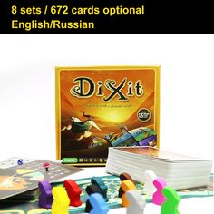 Dixit 8 Expansions // Price: $33.95 & FREE Shipping Worldwide //  We accept PayPal and Credit Cards.    #gameronboard #boardgame #cardgame #game #puzzle #maze #toys #chess #dice #kendama #playingcards #tilegames