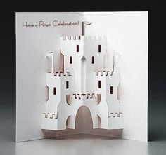 Castle Pop-Up Card