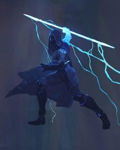 Hunter Arcstrider from Destiny 2
