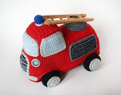 Buy Fire engine amigurumi pattern - AmigurumiPatterns.net