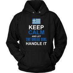 Let The Greek Girl Handle It Shirt