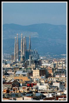 Barcelona des de Montjuïc