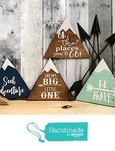rustic nursery décor, woodland theme nursery, nursery signs, deer antler décor, arrow décor YOU PICK QUOTE from DoodlesbyTrista https://www.amazon.com/dp/B01KI8M24U/ref=hnd_sw_r_pi_dp_Zb-FybH0TTKKQ #handmadeatamazon