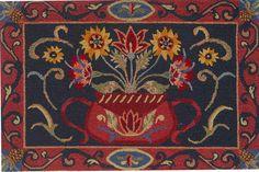 Folk Art Wool Rugs | Creavtive Cookery, Sumter SC - Kitchen Accessories