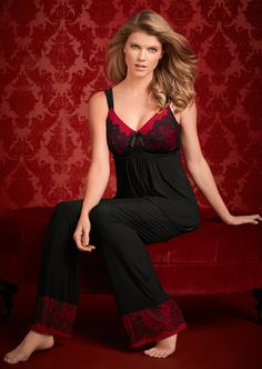 Limited Edition Eloquence Sleep Cami & Pant #SomaIntimates #Eloquence My Soma Wish List Sweeps
