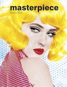 Masterpiece magazine, 2008. Photo: Mike Ruiz.